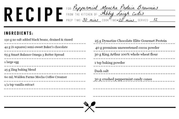 Peppermint Mocha Brownies Recipe